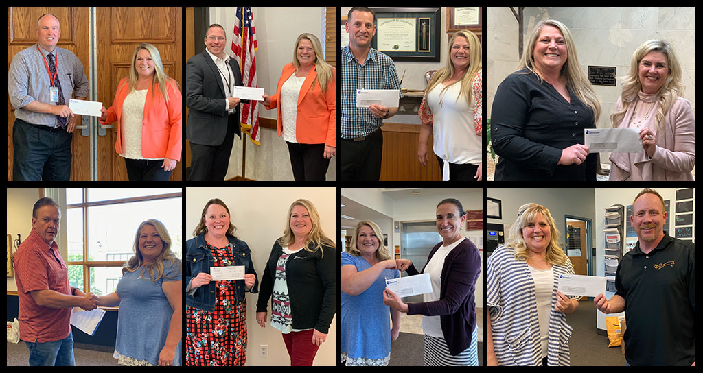 CentraCom Donates funds to local school districts