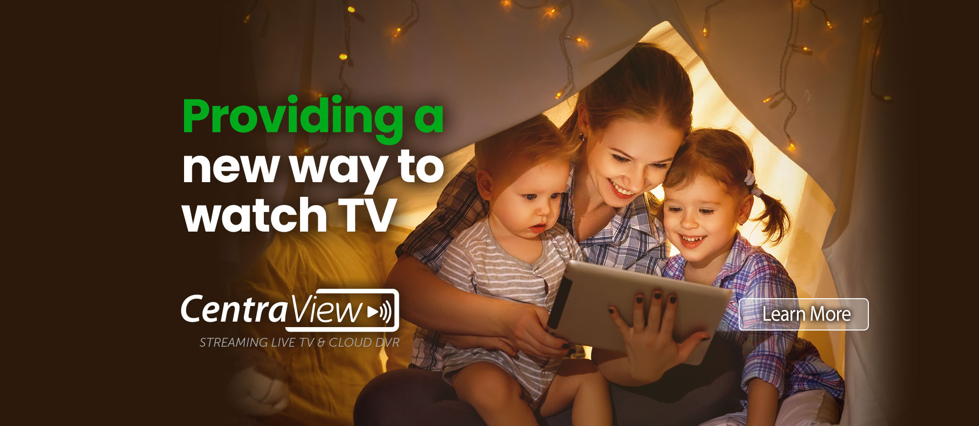 CentraView - A new way to watch TV